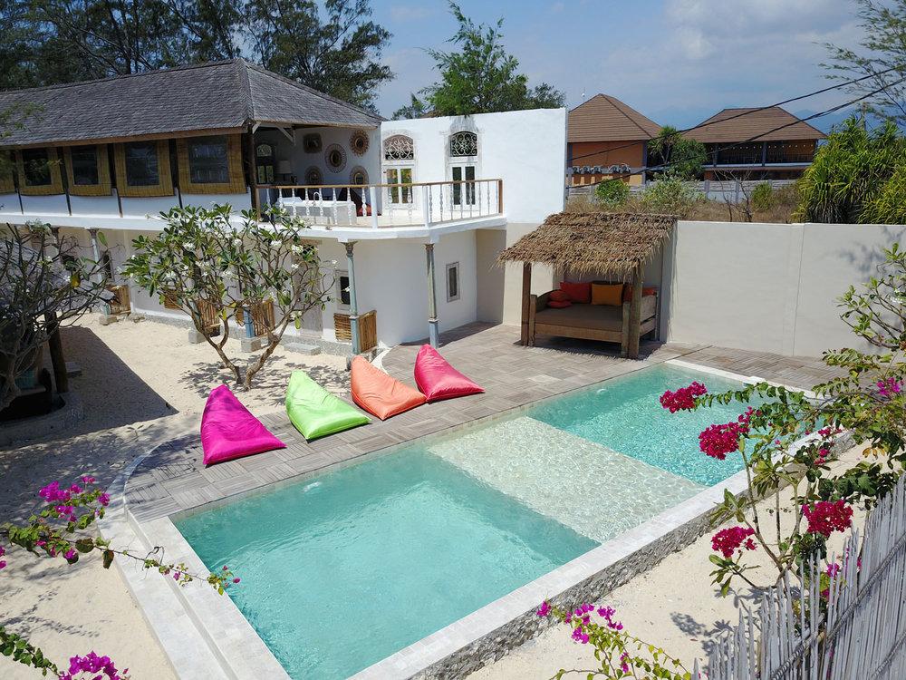 Villa Shellra Gili Islands Bali Management Villas