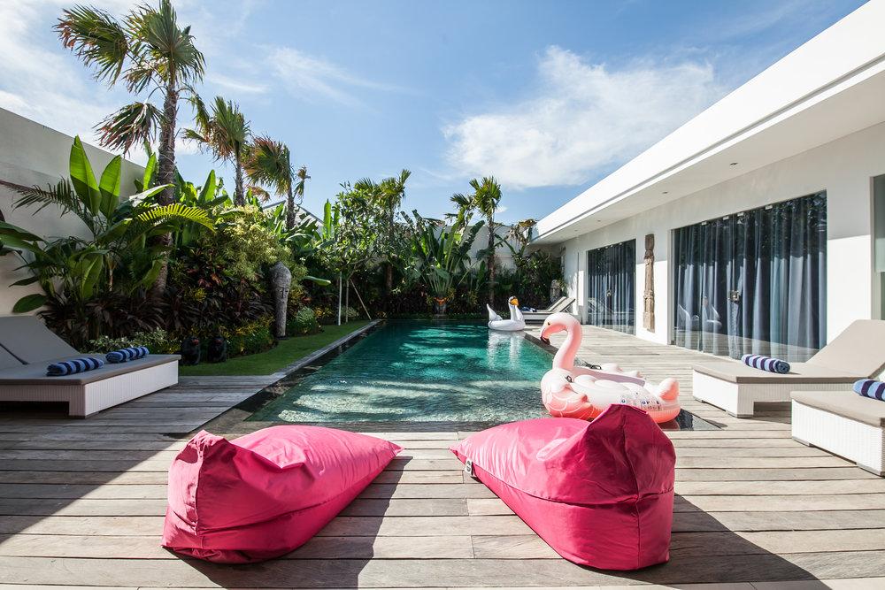 Villa de 3 chambres située à Seminyak, vous adorerez le confort qu'elle procure !