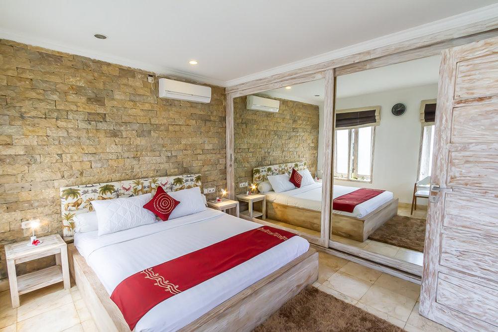 villa bunny kerobokan bedroom