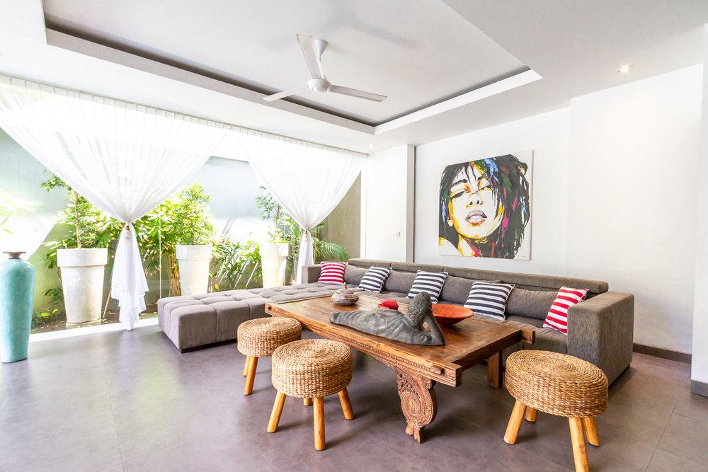 Villa Paloma Bali Seminyak Living room