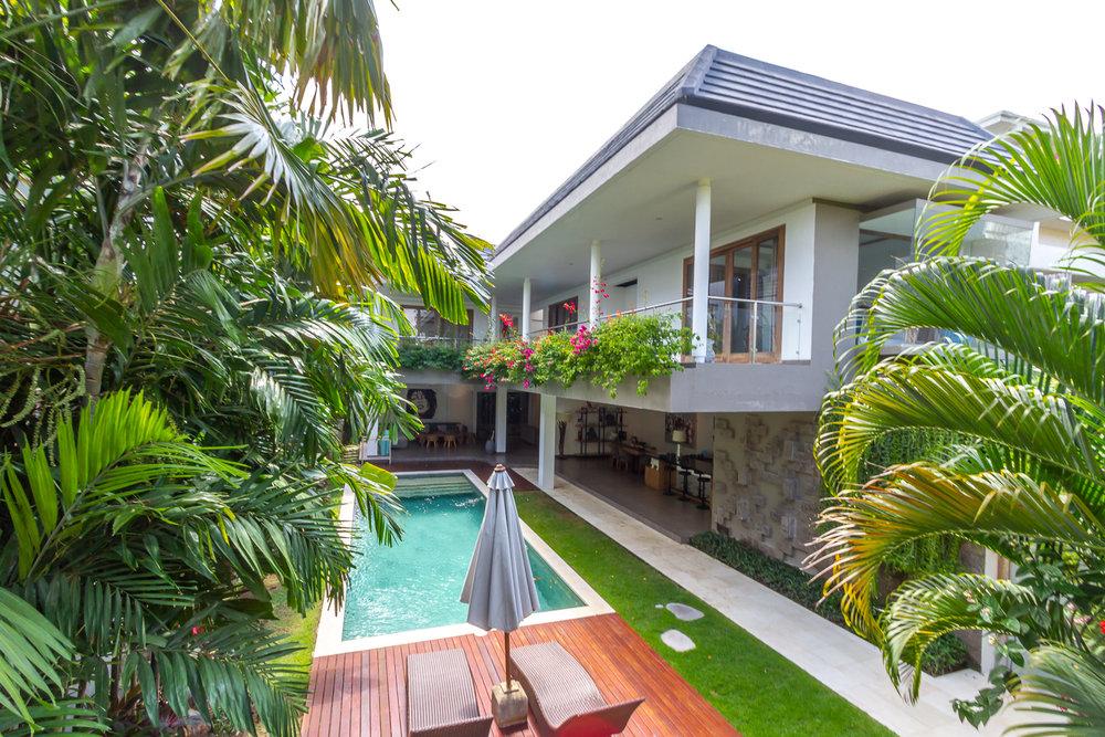 Avec sa décoration fraîche et colorée, cette villa de 3 chambres est un must !