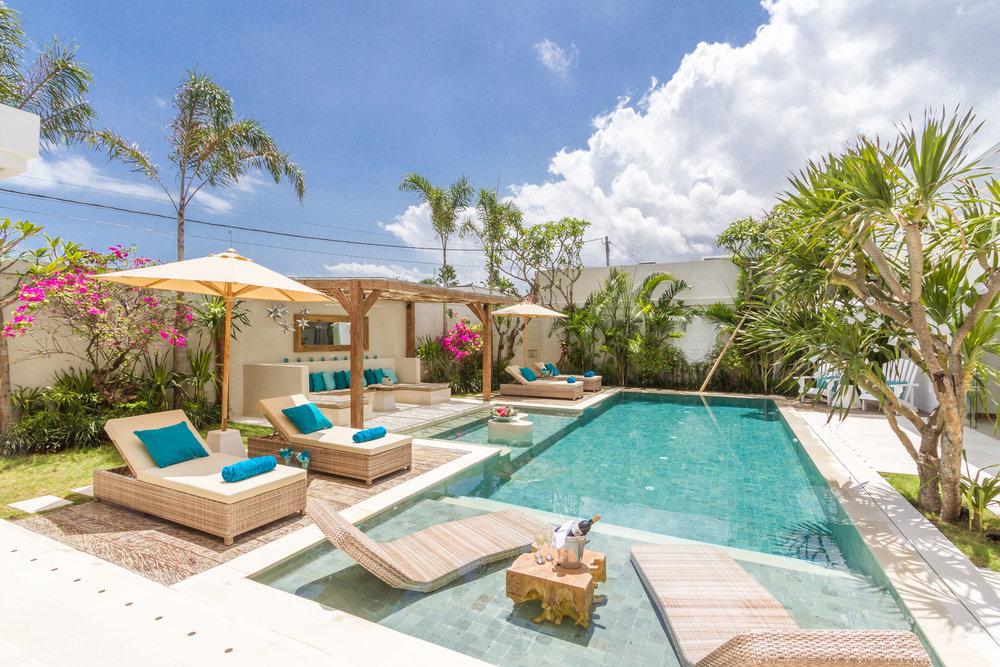 Conçue et luxueuse villa de 4 chambres idéale pour un séjour parfait entre amis