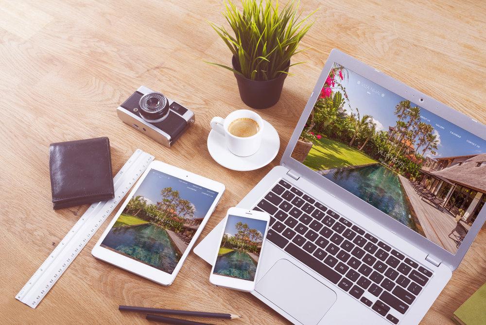 web design and development bali