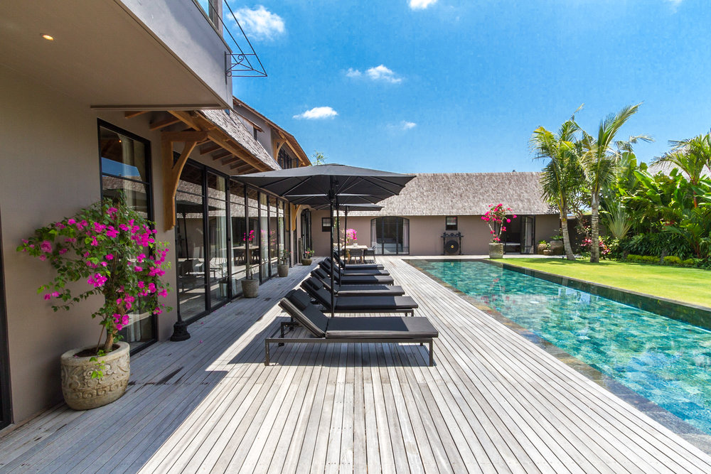 Villa NEHAL garden seminyak bali management villas