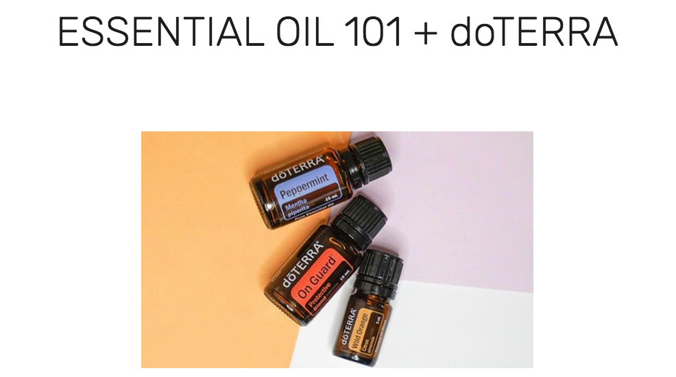 MORE OIL INFO - Check out my oil blog, with how-to's, DIY's & more