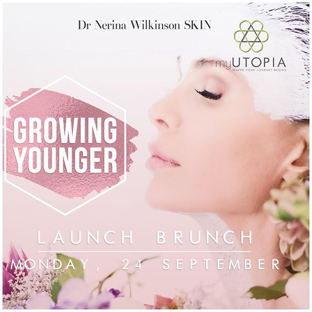 Join us this Heritage Day, as we celebrate our own belief that we have the right to Grow Younger.  That we should celebrate the fact that we are woman and we are in charge of our own destiny.  Growing Younger is a challenge and movement developed by @nerinawilkinsonplasticsurgeon of @drnerinawilkinsonskin & @sandi_dekker of @myutopia_sa to encourage women to support each other and challenge them to take the opportunity to live more meaningful balanced lives whilst always looking and feeling fabulous.  Our fab squad is completed with practical guidance from @nepheritie as she teaches how to be more mindful and live each day with gratitude.  Start your Monday with an optional Pilates class (09h30) or Beginners Vinyasa Class (09h45) followed by a scrumptious brunch prepared by @_gabriellaesposito_.  Welcome and registration starts at 11h00 where you will be guided through what the challenge entails and how we will support you on this journey to grow younger.  Cost of the tickets are R195.00 Book your ticket now by following the link in our bio and we look forward to sharing this incredible challenge with you.
