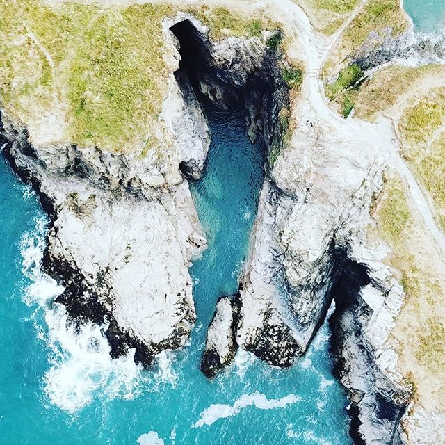 Dreamy weekend and location 💙☀️ Thank you Cornwall #summeroflove #summerday #holiday #cornwall #dji
