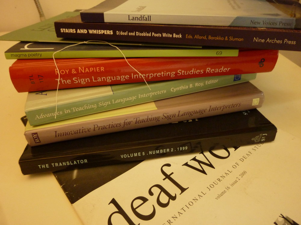 Translating concepts and insights into academic articles   A sample of publications in which my writing appears. There are ten further journal publications, and a couple of hardbacks that can be added to this pile.