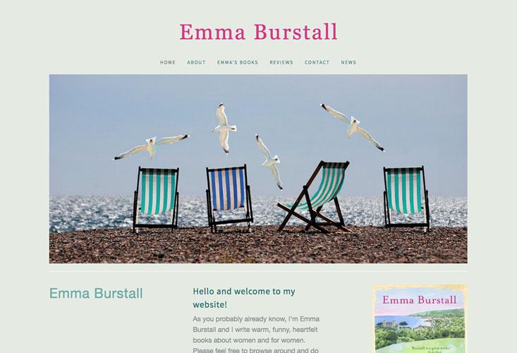 Emma Burstall Author