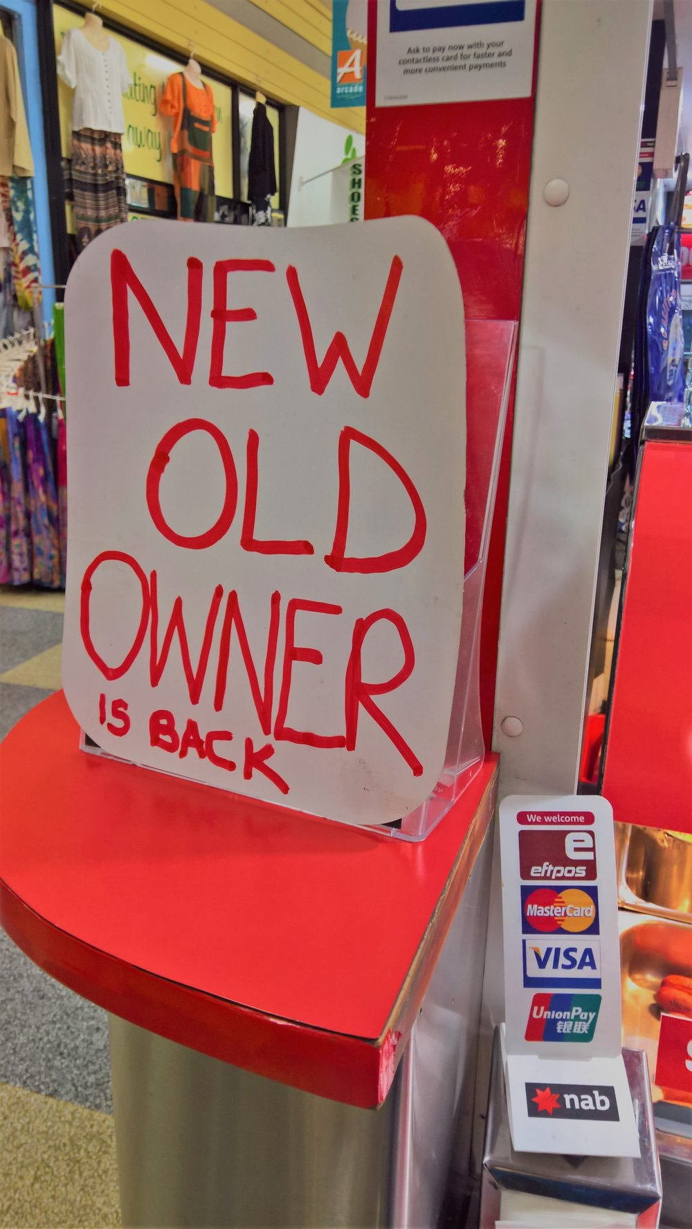 """The German Sausage place in Central Markets has """"New Old Owners."""" Wut?"""
