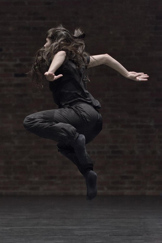 Photography by Michael Slobodian of dancer Margarita Soria for 'big kid'