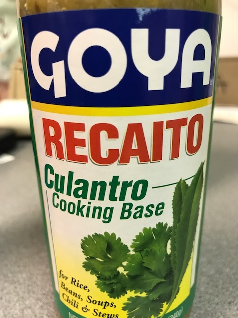 Goya Culantro Cooking Base