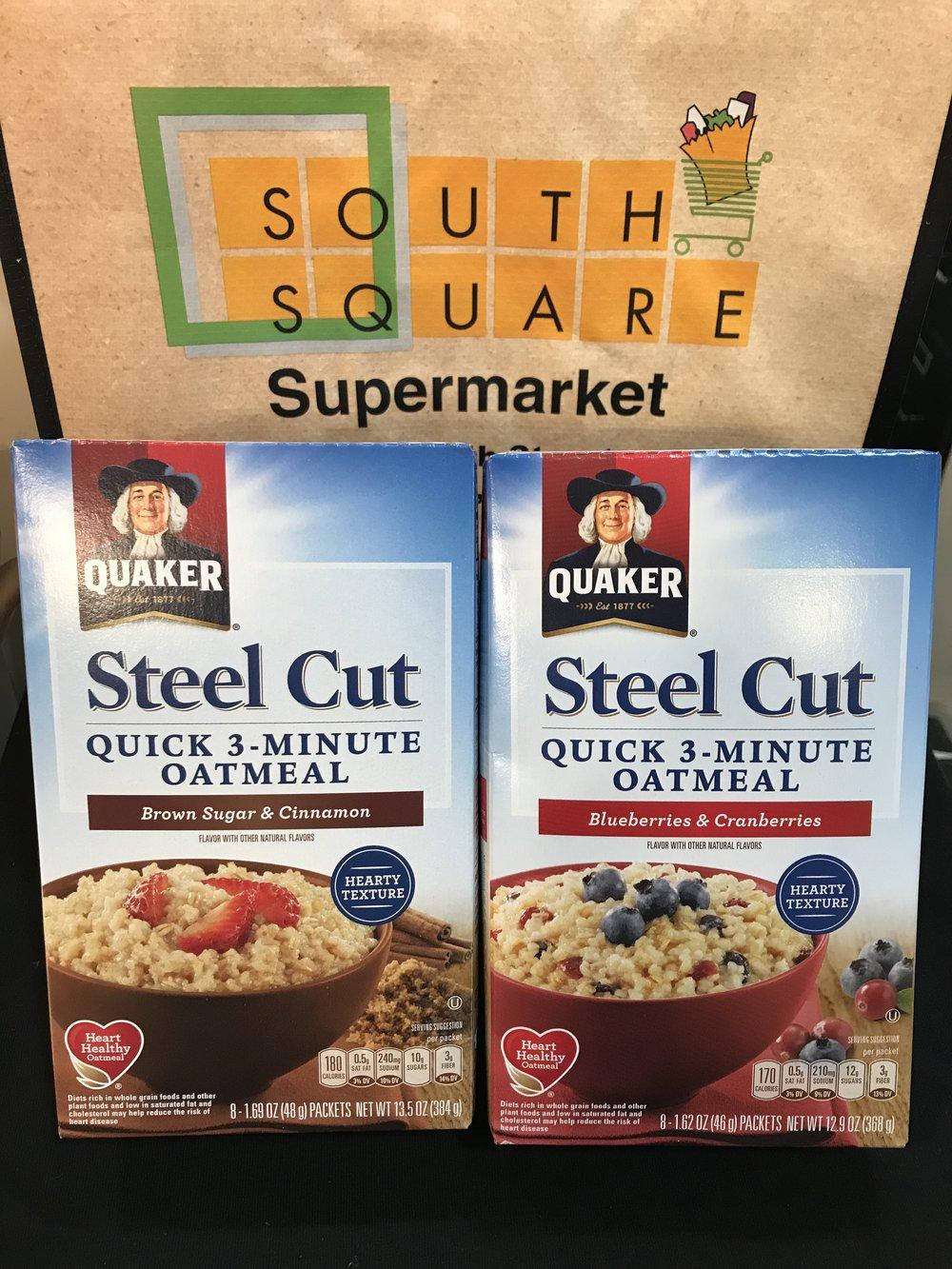Quaker Steal Cut Quick Oatmeal
