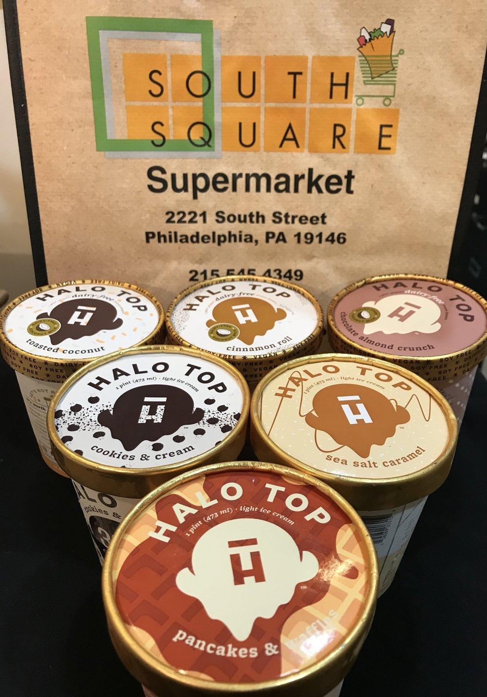 Halo Top Ice Cream (Dairy Free too!)