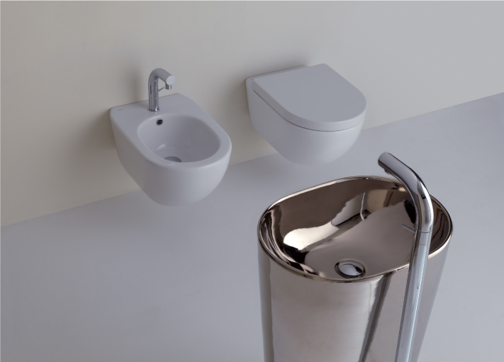 Althea Cover Wall Hung WC / Bidet   Althea Cover Freestanding Floor outlet