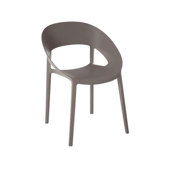 Chair Lola, Polypropylene, Greige