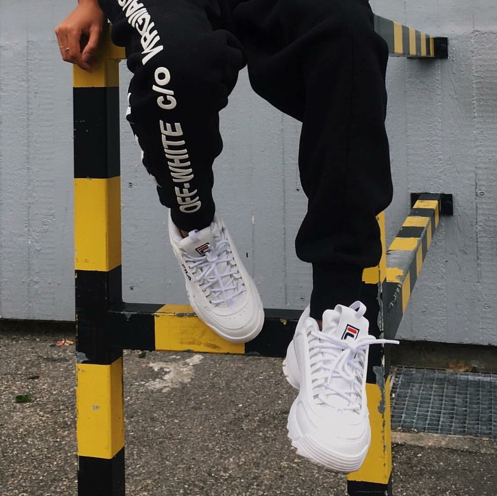 Off-White + FILA - / blvckd0pe