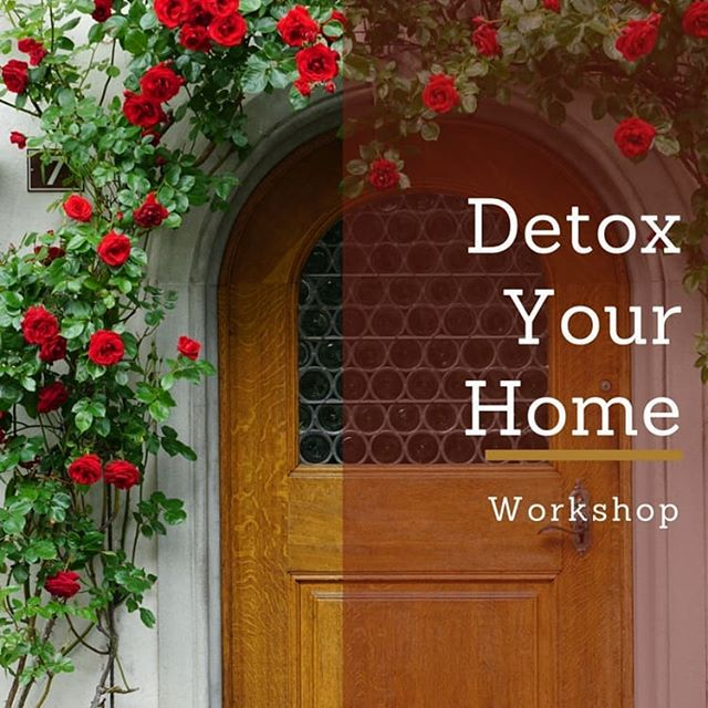 Let's talk about less toxic chemicals, saving more money, and thinking about what you throw away. All of these things bring health to your home.