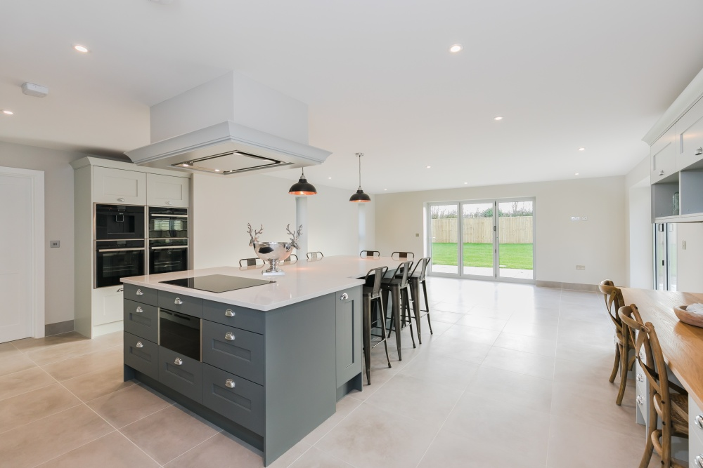 Breedon House – kitchen and family room