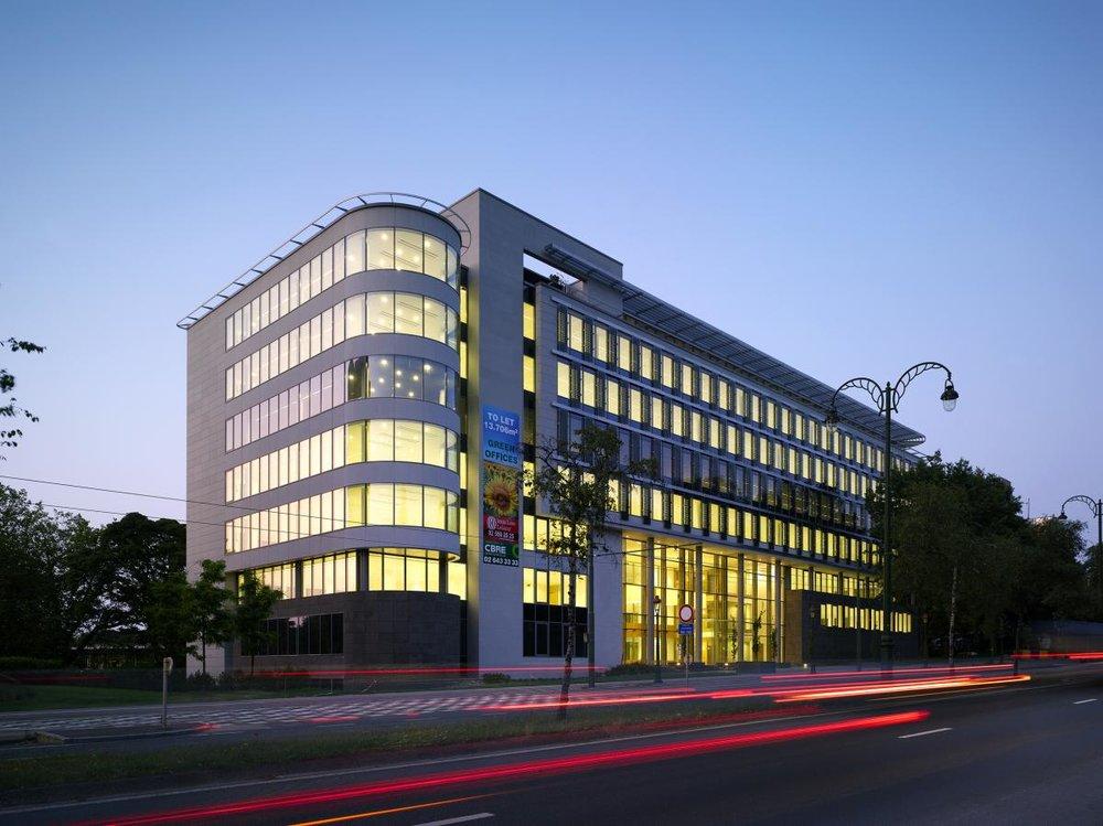 Solaris office building in Brussel