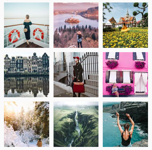The #dametraveler hashtag has over 1.9 million user-generated posts.
