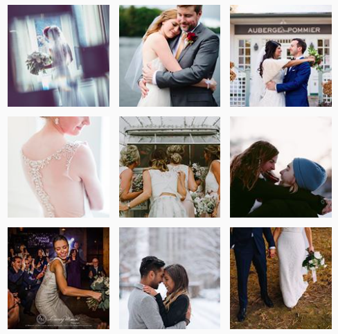 The #torontoweddingphotographer hashtag has over 131K posts.