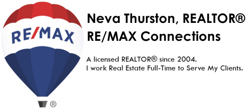 Neva Thurston, REALTOR® RE/MAX Connections