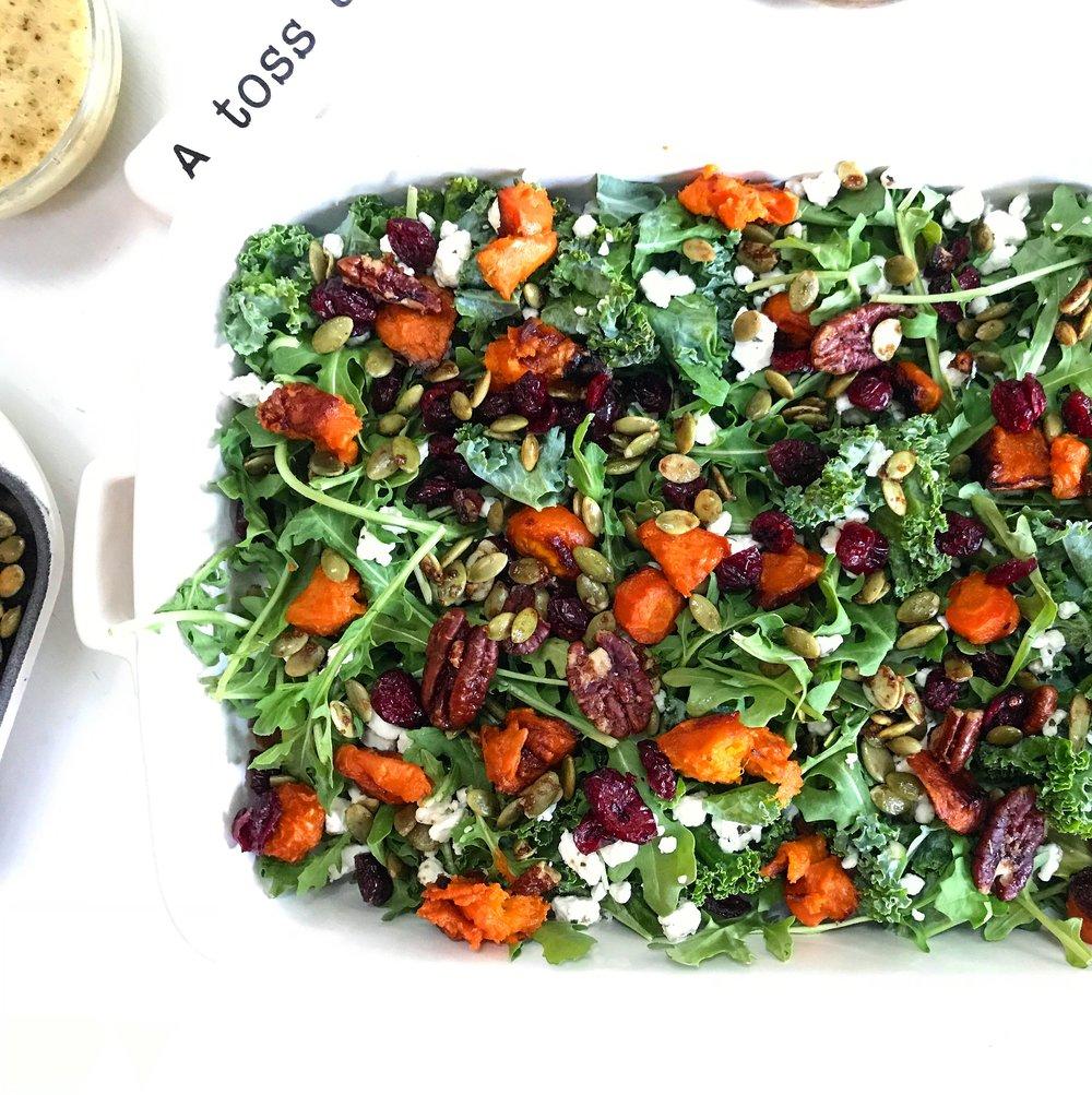 Winter Root Salad