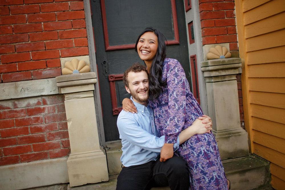 Jenesis and her husband, Zach. Photo Cred:Leeka Belyaeva
