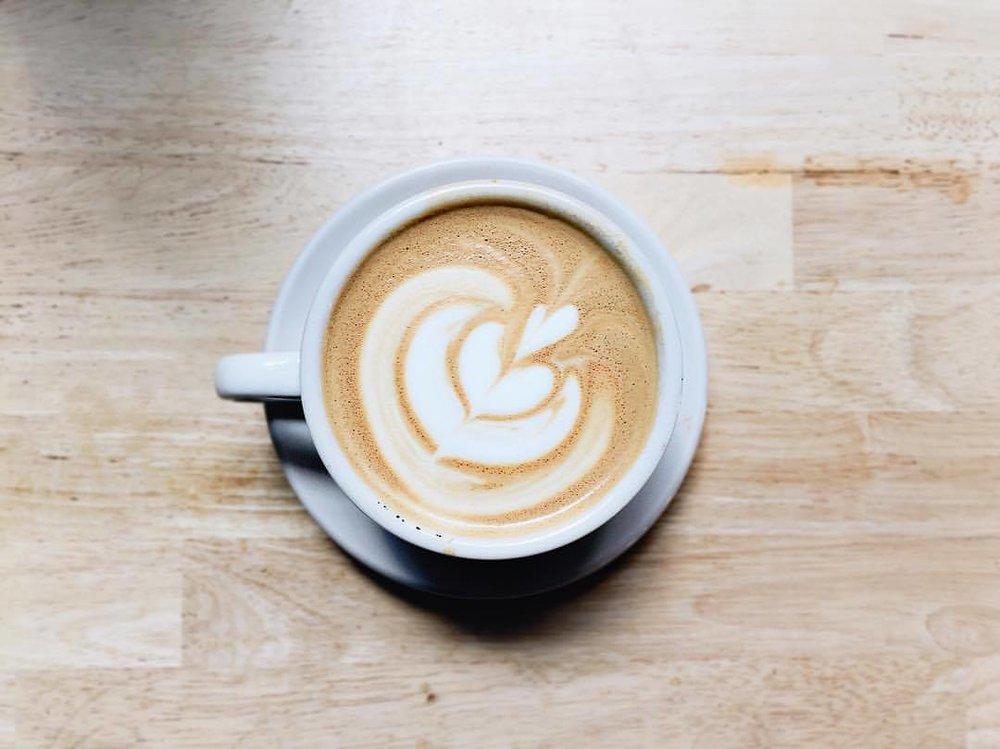 Photo from Brick's Instagram: @brickcoffee