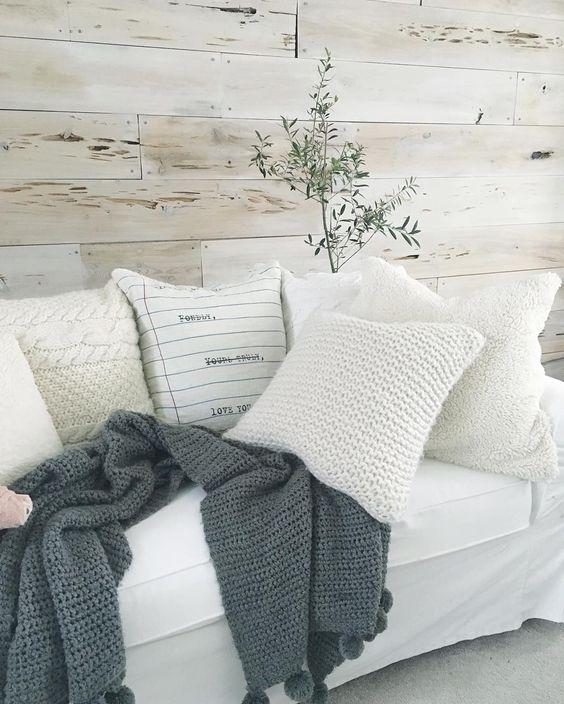 Pecky Cypress Feature Wall - Pinterest