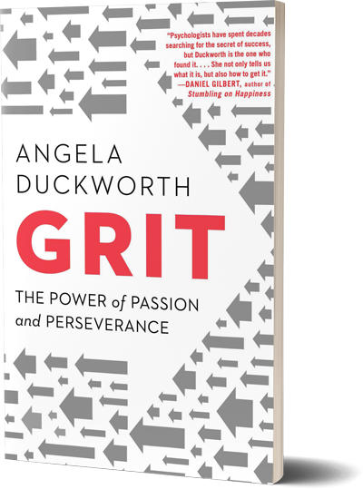 <i>Grit</i><br>by Angela Duckworth