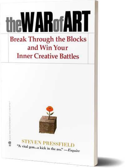 <i>The War of Art</i><br>by Steven Pressfield