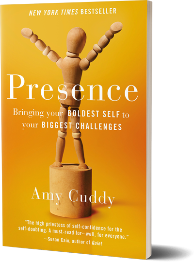 <i>Presence</i><br>by Amy Cuddy