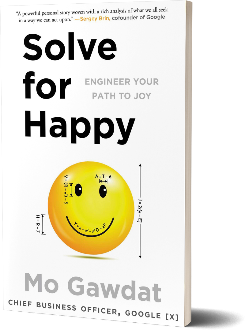 <i>Solve for Happy</i><br>by Mo Gawdat