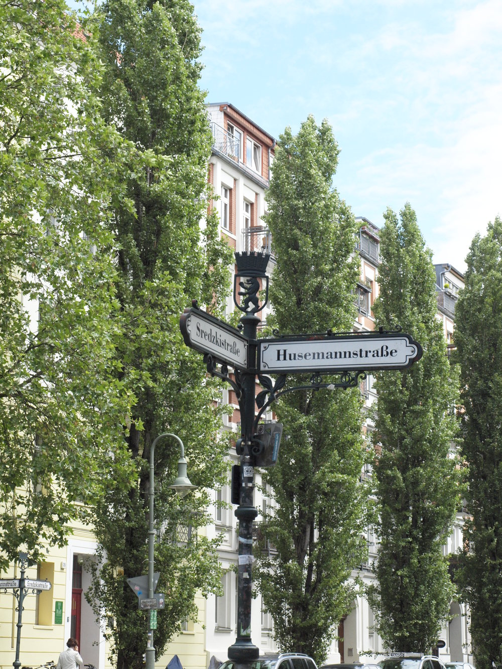 Berlin Street Signs