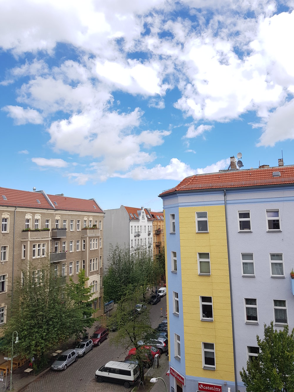 Berlin Air BnB View