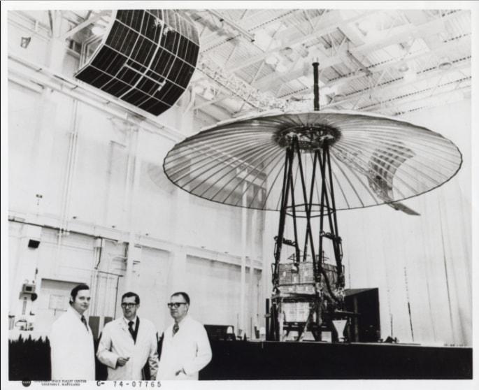 The ATS-6 under development (source: NASA)