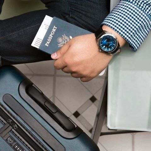 Traveling this May 24 weekend?  Always be on time with Bulova's precisionist movements! Safe travels everyone!  #travels #Bulovawatch #menswatched #style #mensfashion #ontime #Bulova