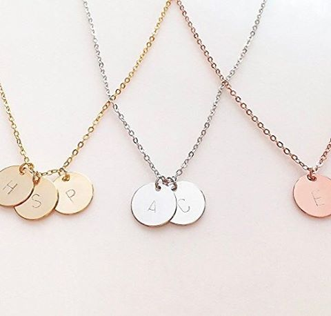 Rose, yellow or white, whatever your style these initial necklaces are a beautiful signature to any jewellery collection.  #Initialjewellery #namenecklace #necklace #rosegold #yellowgold #whitegold #silver #personalized #style #womensfashion #trending #onpoint