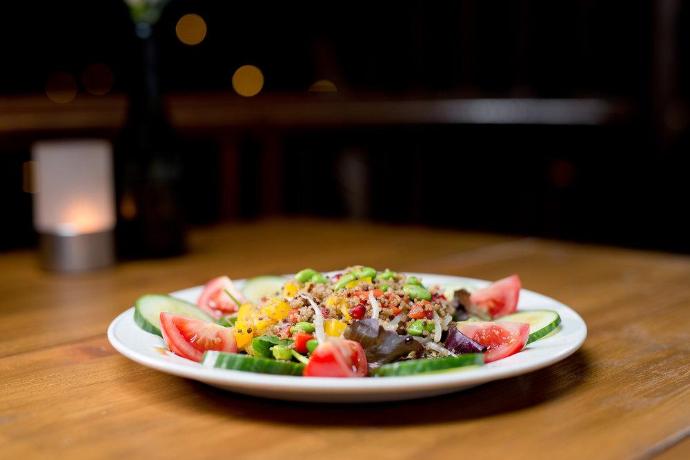 Vegan Menu - Click here to read our vegan menu...