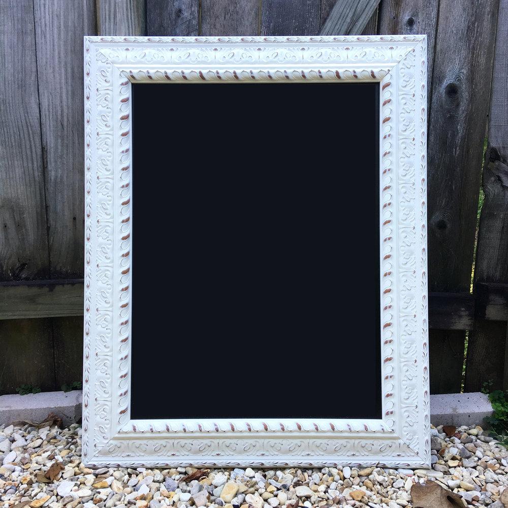Large Frame Chalkboard - 28