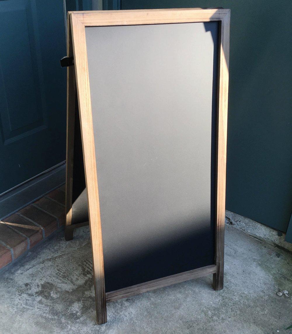 Two-Sided Easel Chalkboard - 15