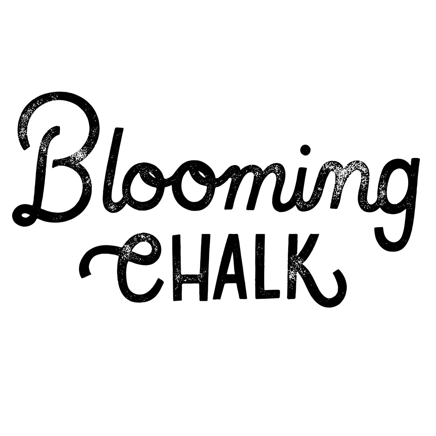 Blooming Chalk