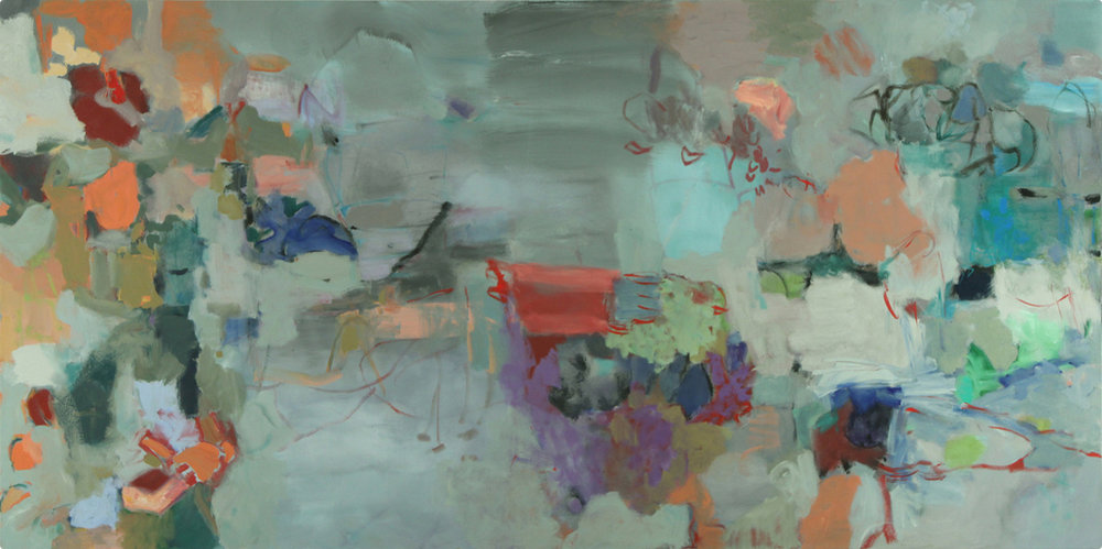 Flight, 2010      Oil on canvas      48 x 96 inches