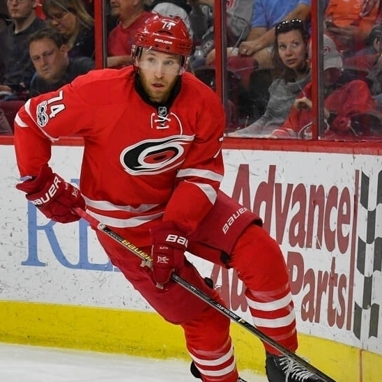 Jaccob Slavin   Carolina Hurricanes (NHL)  Defenseman