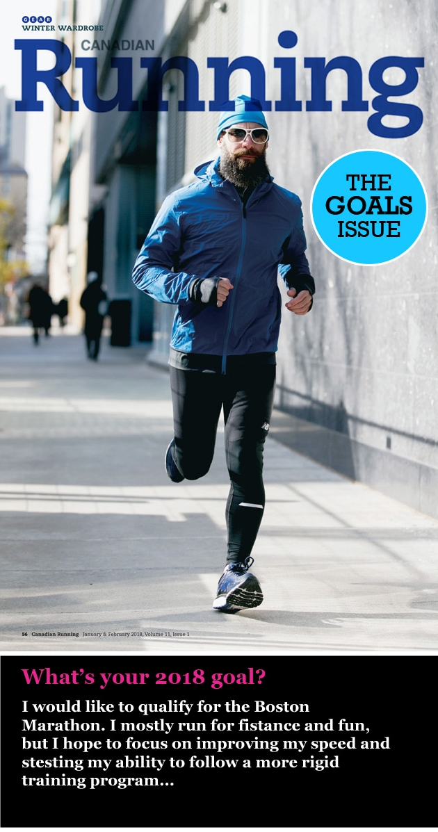 Canadian Running Jan/Feb Issue 2018