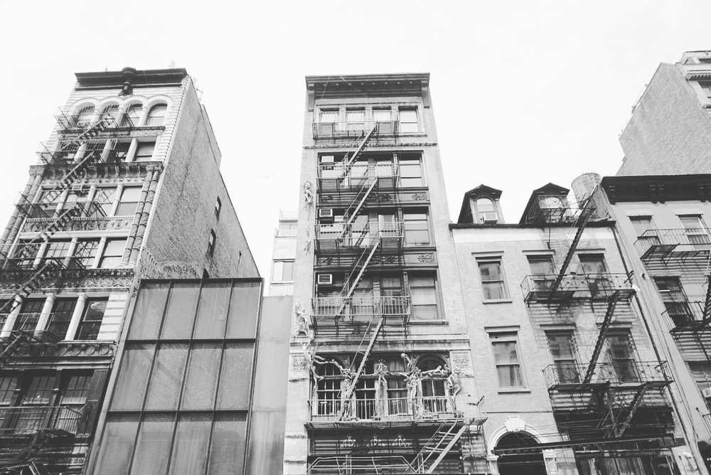 NYC walks. Sometimes you just gotta look up.