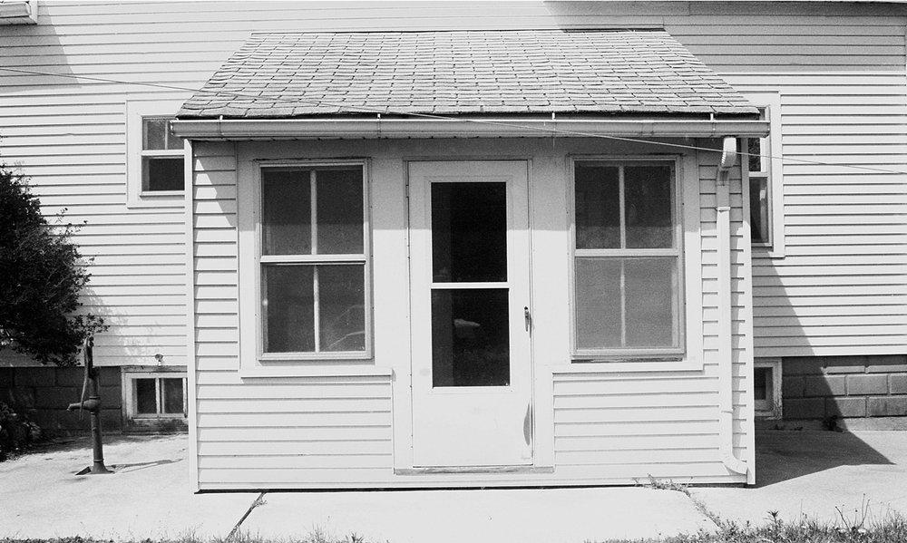 Front door, 1996