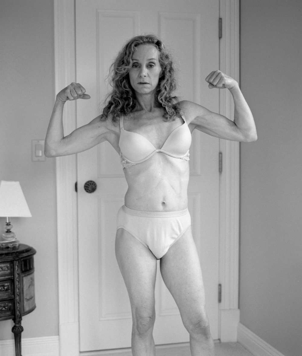 Anne flexing, 2007